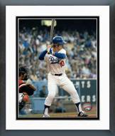 Los Angeles Dodgers Ron Cey batting Framed Photo