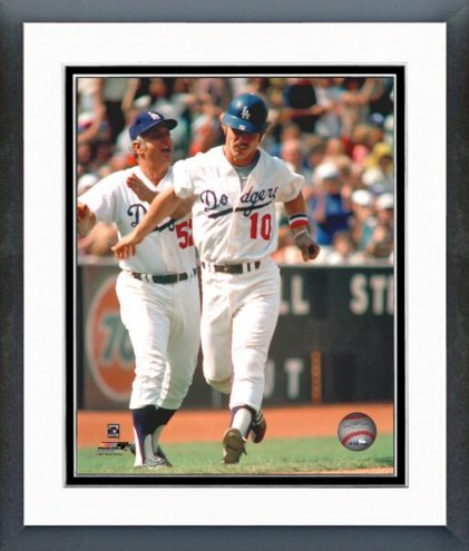 Los Angeles Dodgers Ron Cey Rounding Third Base Framed Photo