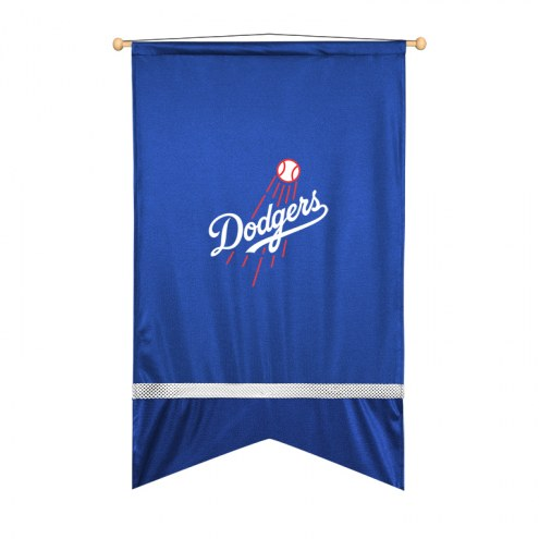 Los Angeles Dodgers Sidelines Wall Flag