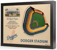 Los Angeles Dodgers 25-Layer StadiumViews 3D Wall Art