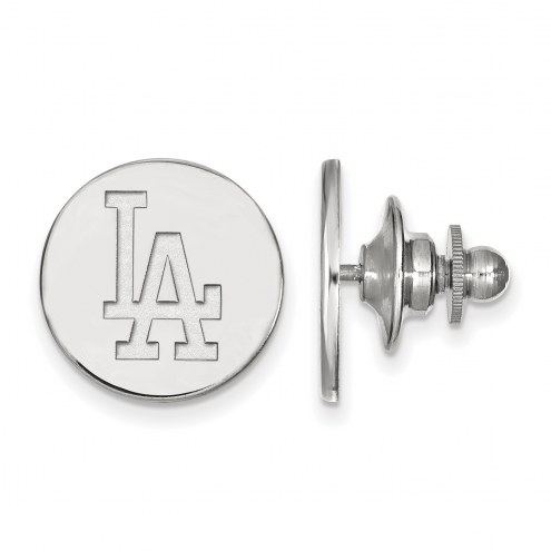 Los Angeles Dodgers Sterling Silver Lapel Pin
