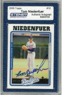 Los Angeles Dodgers Tom Niedenfuer Signed 2005 Topps Card
