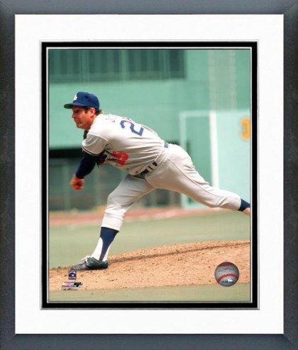 Los Angeles Dodgers Tommy John Action Framed Photo