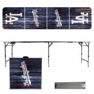 Los Angeles Dodgers Victory Folding Tailgate Table