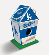 Los Angeles Dodgers Wood Birdhouse