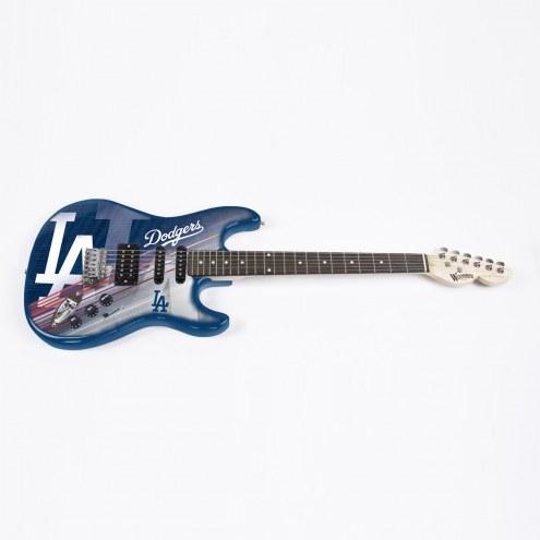 Los Angeles Dodgers Woodrow Northender Electric Guitar