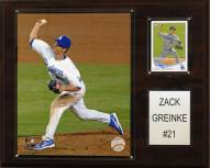 "Los Angeles Dodgers Zack Greinke 12"" x 15"" Player Plaque"