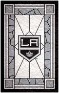 """Los Angeles Kings 11"""" x 19"""" Stained Glass Sign"""