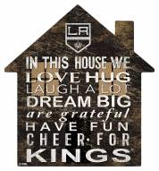 """Los Angeles Kings 12"""" House Sign"""