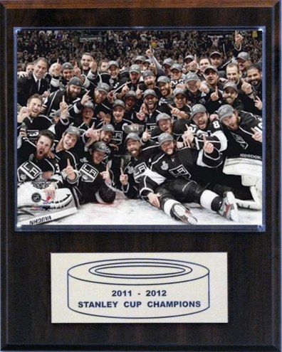"Los Angeles Kings 12"" x 15"" 2012 Stanley Cup Celebration Plaque"