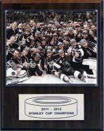 "Los Angeles Kings 12"" x 15"" 2012 Stanley Cup Celebration Plaque"
