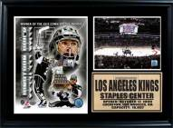 """Los Angeles Kings 12"""" x 18"""" Jonathan Quick Photo Stat Frame"""