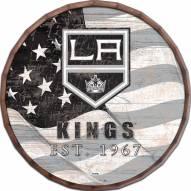 """Los Angeles Kings 16"""" Flag Barrel Top"""