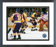 Los Angeles Kings 1980 Action Framed Photo