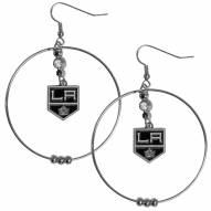 """Los Angeles Kings 2"""" Hoop Earrings"""