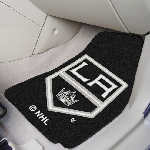 Los Angeles Kings 2-Piece Carpet Car Mats