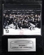 "Los Angeles Kings 12"" x 15"" 2013-2014 Stanley Cup Celebration Plaque"