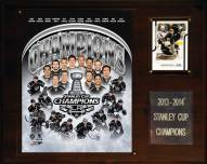 """Los Angeles Kings 12"""" x 15"""" 2013-2014 Stanley Cup Champions Plaque"""