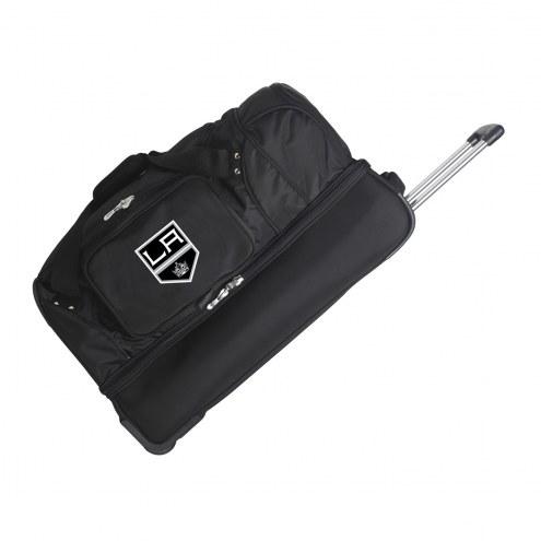 "Los Angeles Kings 27"" Drop Bottom Wheeled Duffle Bag"