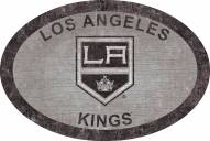 """Los Angeles Kings 46"""" Team Color Oval Sign"""