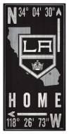"Los Angeles Kings 6"" x 12"" Coordinates Sign"