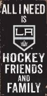 """Los Angeles Kings 6"""" x 12"""" Friends & Family Sign"""