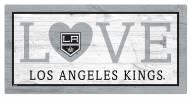 "Los Angeles Kings 6"" x 12"" Love Sign"