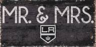 "Los Angeles Kings 6"" x 12"" Mr. & Mrs. Sign"