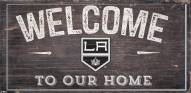 """Los Angeles Kings 6"""" x 12"""" Welcome Sign"""