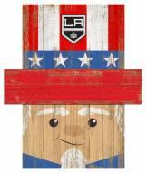 """Los Angeles Kings 6"""" x 5"""" Patriotic Head"""
