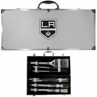 Los Angeles Kings 8 Piece Stainless Steel BBQ Set w/Metal Case