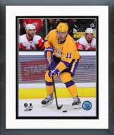 Los Angeles Kings Anze Kopitar Action Framed Photo