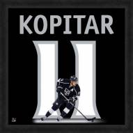 Los Angeles Kings Anze Kopitar Uniframe Framed Jersey Photo