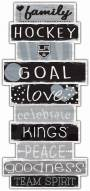 Los Angeles Kings Celebrations Stack Sign