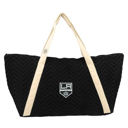 Los Angeles Kings Chevron Stitch Weekender Bag