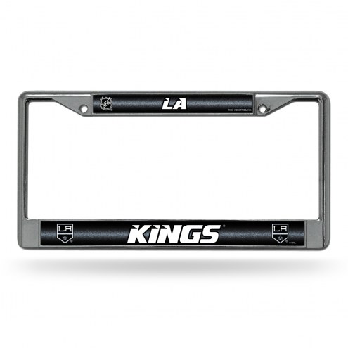 Los Angeles Kings Chrome Glitter License Plate Frame