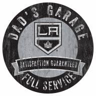 Los Angeles Kings Dad's Garage Sign