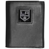 Los Angeles Kings Deluxe Leather Tri-fold Wallet in Gift Box