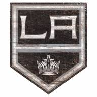 Los Angeles Kings Distressed Logo Cutout Sign