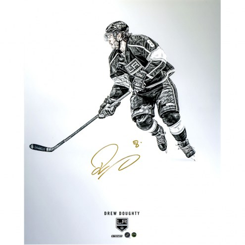 """Los Angeles Kings Drew Doughty Steiner Platinum Collection Signed 16"""" x 20"""" Photo"""