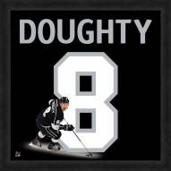 Los Angeles Kings Drew Doughty Uniframe Framed Jersey Photo