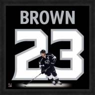 Los Angeles Kings Dustin Brown Uniframe Framed Jersey Photo