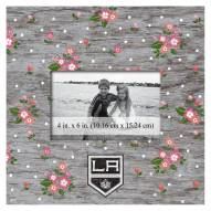 """Los Angeles Kings Floral 10"""" x 10"""" Picture Frame"""