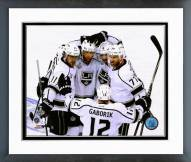 Los Angeles Kings Goal Celebration Stanley Cup Finals Framed Photo