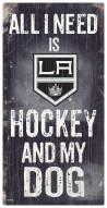 Los Angeles Kings Hockey & My Dog Sign