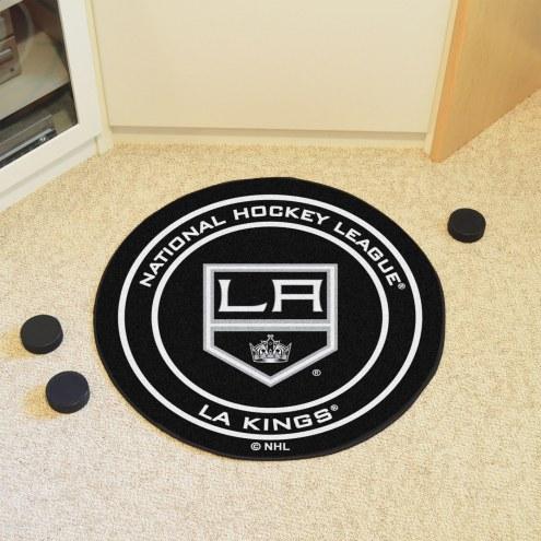 Los Angeles Kings Hockey Puck Mat