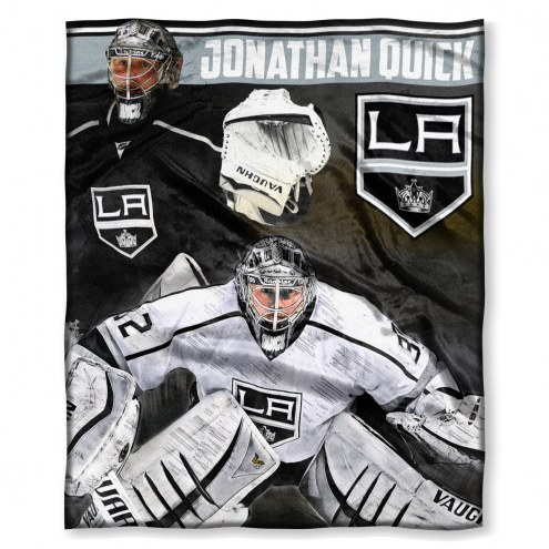 Los Angeles Kings Johnathan Quick Silk Touch Blanket