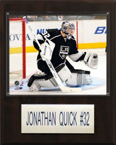 "Los Angeles Kings Jonathan Quick 12"" x 15"" Player Plaque"