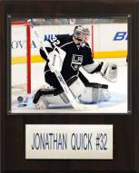 """Los Angeles Kings Jonathan Quick 12"""" x 15"""" Player Plaque"""