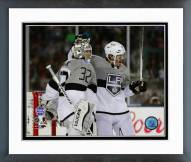 Los Angeles Kings Jonathan Quick & Drew Doughty NHL Framed Photo